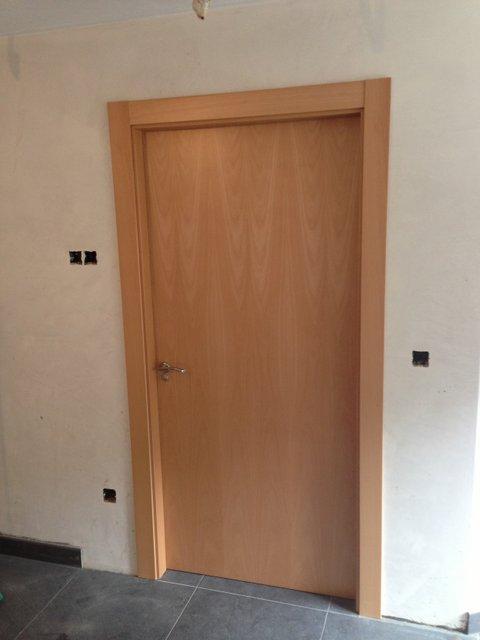 Fotos de puertas de interior puerta de nueva tendencia a - Puertas de roble ...