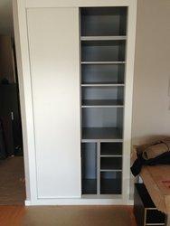 armario empotrado puertas de correderas lacadas
