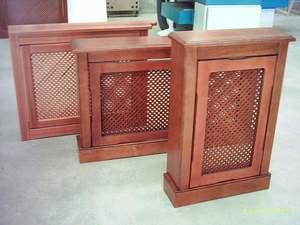 cubre radiadores de madera